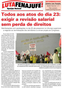 Edi��o 0 - 1/9/2009
